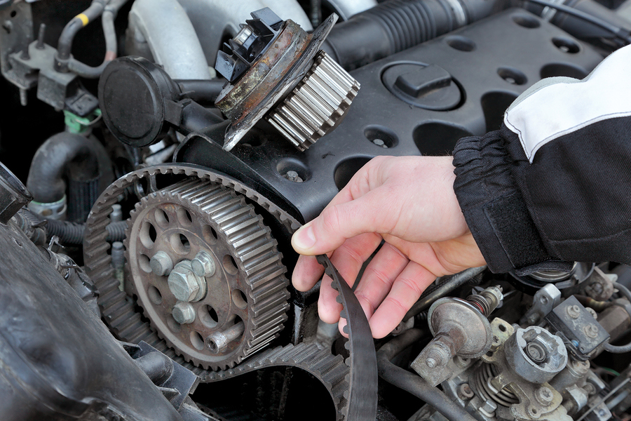 Know these symptoms of when to replace the timing belt on your car or truck.